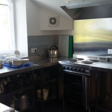 Modern professional kitchen